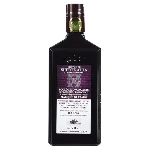 CORTIJO DE SUERTE ALTA Масло оливковое Купаж Extra Virgin 0.5 л