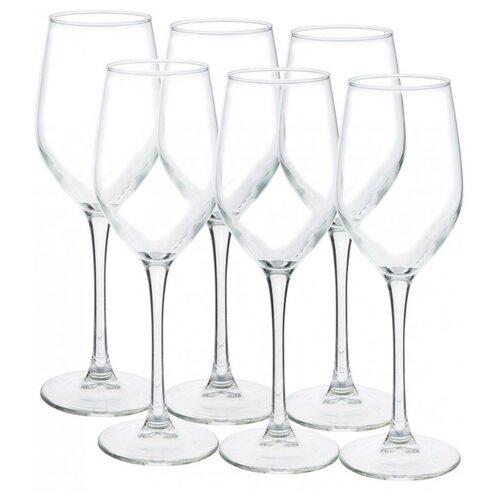 Luminarc Набор бокалов для вина Celeste 270 мл 6 шт L5830 набор бокалов для вина luminarc celeste shiny graphite 350 мл 6 предметов