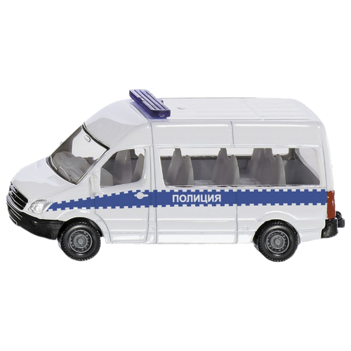 цена на Микроавтобус Siku 0806RUS 8 см белый