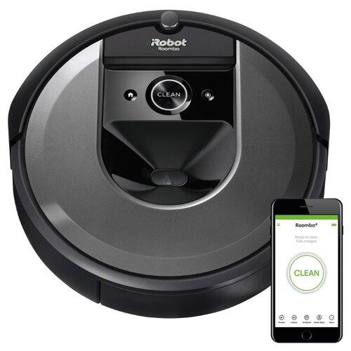 цена на Робот-пылесос iRobot Roomba i7 черный
