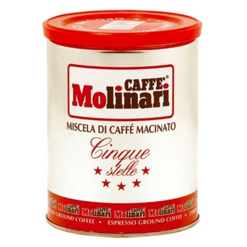 Кофе молотый Molinari Cinque Stelle (5 звезд), 250 г фото
