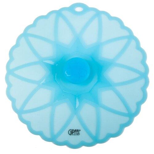 Крышка GIPFEL силиконовая 2856 (28.8х28.2 см) синий gipfel рукавица силиконовая tonia