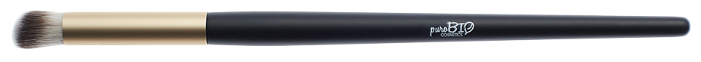 Кисть puroBIO №09 для консилера, теней, пудры, бронзера