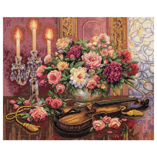 Купить Dimensions Набор для вышивания Romantic Floral (Романтический букет) 41 х 33 см (35185), Наборы для вышивания