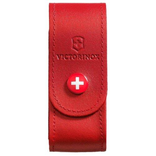 Чехол для ножей 91 мм 2-4 уровня на кнопке VICTORINOX красный victorinox набор ножей для стейков swiss classic 6 пр 11 см 6 7232 6 victorinox