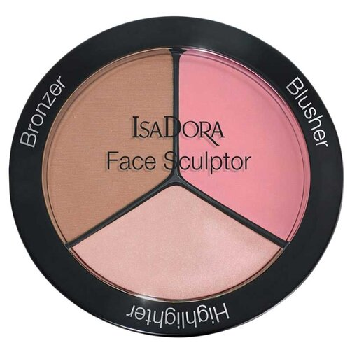 IsaDora Многофункциональное средство для макияжа лица Face Sculptor 02, cool pink