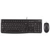 Клавиатура и мышь Logitech Desktop MK120 Black USB