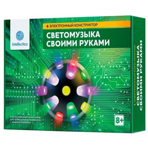 Купить Набор Intellectico Электронный конструктор. Светомузыка своими руками (1005), Наборы для исследований