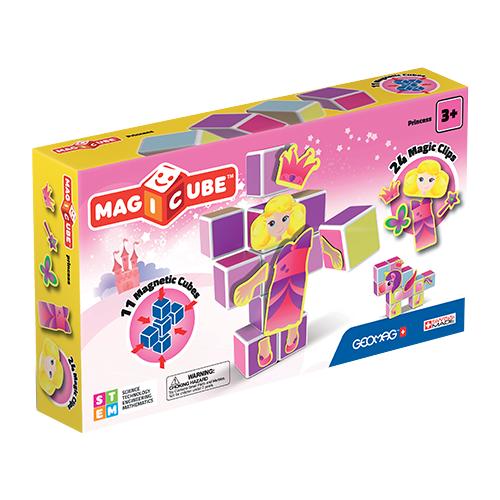 Купить Магнитный конструктор GEOMAG Magicube 143-11 Принцессы, Конструкторы