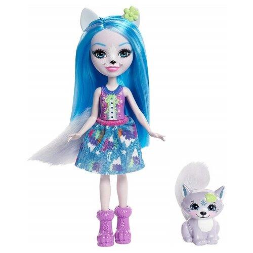 Купить Кукла Enchantimals Уинсли Вульф с любимой зверюшкой, 15 см, FRH40, Куклы и пупсы