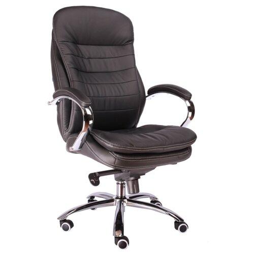 Фото - Компьютерное кресло Everprof Valencia M для руководителя, обивка: искусственная кожа, цвет: черный компьютерное кресло everprof trend tm для руководителя обивка искусственная кожа цвет черный