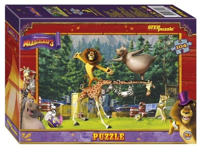 Пазл Step puzzle Dreamworks Мадагаскар 3 (82116), 104 дет.