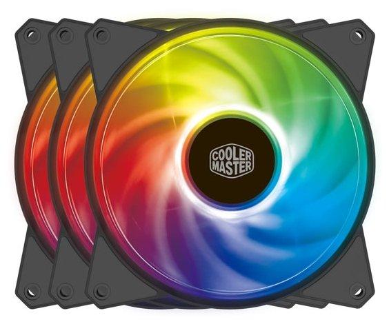 Система охлаждения для корпуса Cooler Master MF120R ARGB 3IN1