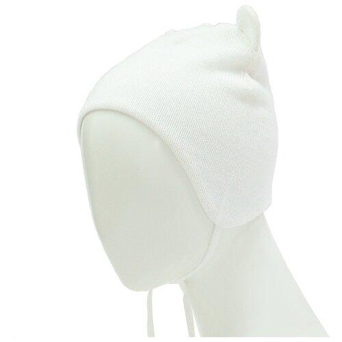 Шапка Zattani размер 48, белыйГоловные уборы<br>