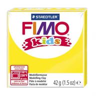 Полимерная глина FIMO kids 42 г желтый (8030-1)