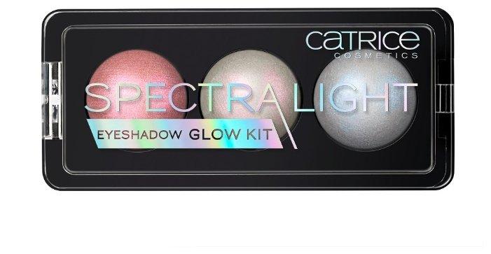 CATRICE Палетка теней SpectraLight Eyeshadow Glow Kit