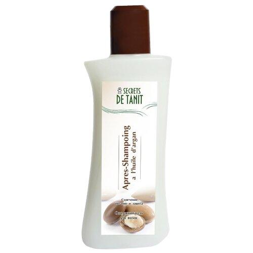 Secrets de Tanit Ополаскиватель для волос с маслом арганы, 200 мл secrets de tanit маска для тела разогревающая глиняно водорослевая с маслом гвоздики 400 г
