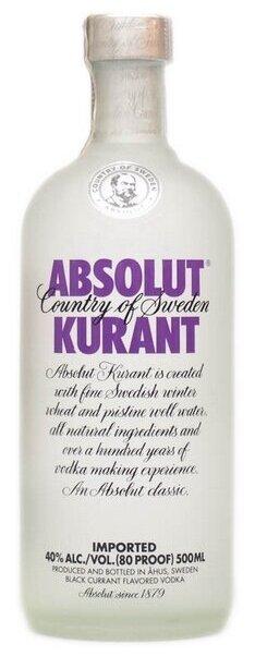 Водка Absolut Kurant, 0.5 л