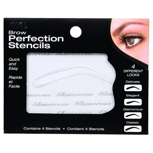 Трафареты для бровей Ardell Brow Perfection Stencils бесцветный карандаш фиксатор для бровей ninelle brow make up 409