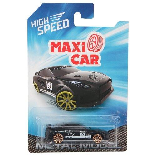 Купить Легковой автомобиль Maxi Car i-I868-1.2 1:64 7.5 см черный/белый, Машинки и техника