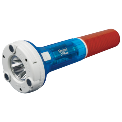 Ручной фонарь Uniel P-AT031-BB янтарно-синий