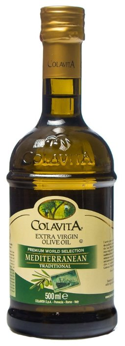 ColavitA Масло оливковое Extra Virgin Mediterranean Traditional, стеклянная бутылка