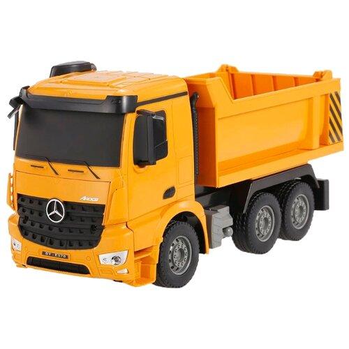 Купить Грузовик Double Eagle Mercedes-Benz Arocs (E570-003) 1:26 28 см оранжевый, Радиоуправляемые игрушки