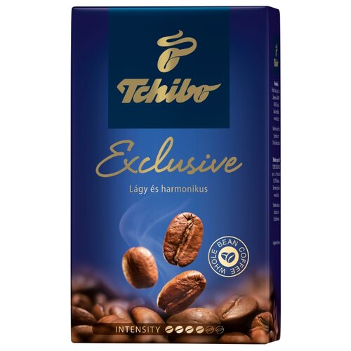 Кофе молотый Tchibo Exclusive, 250 г tchibo exclusive decaf кофе растворимый 100 г