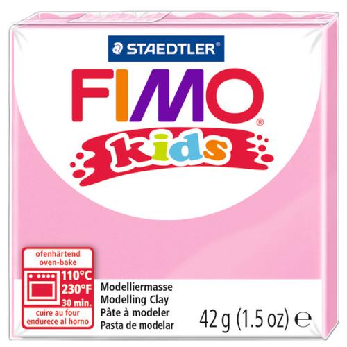 Полимерная глина FIMO kids 42 г розовый (8030-220)Глина<br>