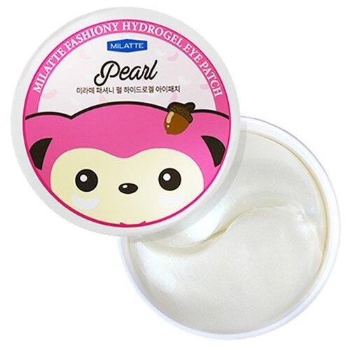 Milatte Гидрогелевые патчи для глаз Fashiony Pearl Hydrogel Eye Patch (60 шт.) гидрогелевые патчи pearl