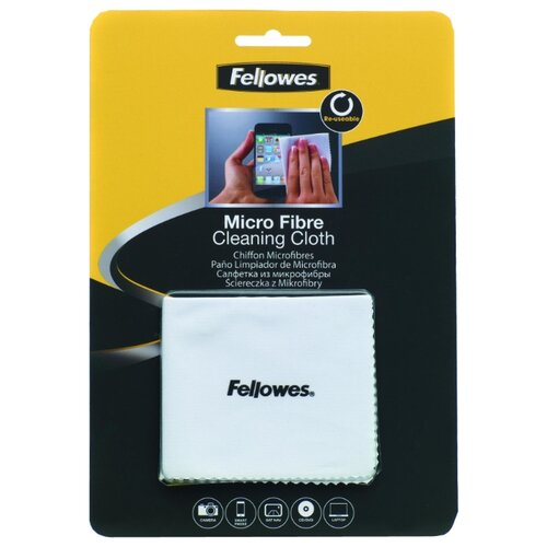 Fellowes Micro Fibre Cleaning Cloth сухая салфетка  - купить со скидкой