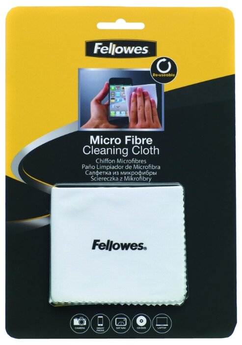 Fellowes Micro Fibre Cleaning Cloth многоразовая салфетка
