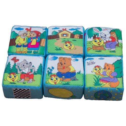 Купить Кубики-пазлы Учитель Колобок ИТМ-1, Детские кубики