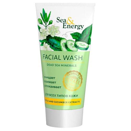 Sea & Energy пенка для умывания с экстрактом мирта и огурца, 150 млОчищение и снятие макияжа<br>