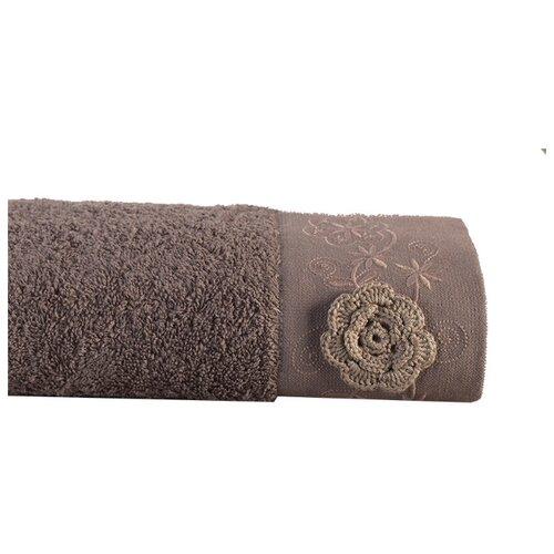Аллегро полотенце Прованс 50х90 см кофейный