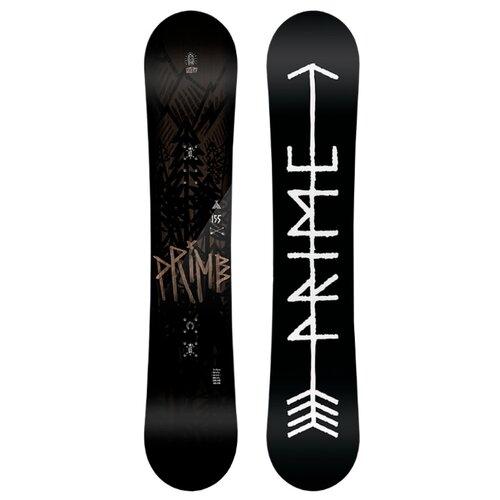 Сноуборд Prime snowboards Wood (18-19) черный 155