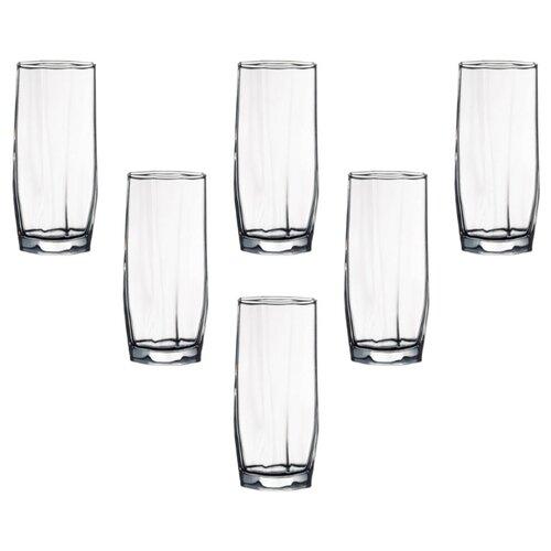 Pasabahce Набор стаканов Hisar 330 мл 6 шт прозрачный цена 2017