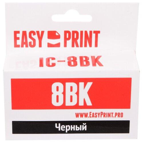 Фото - Картридж EasyPrint IC-CLI8BK, совместимый картридж easyprint ic pgi450bk xl совместимый