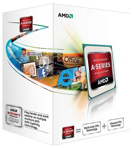 AMD Процессор AMD A4 Richland
