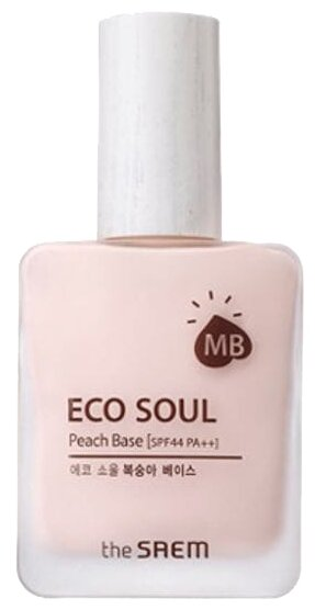The Saem база под макияж Eco Soul Peach Base 25 мл