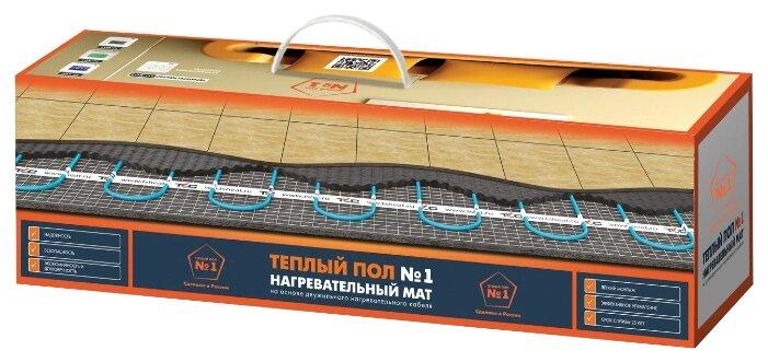 Нагревательный мат Теплый пол №1 ТСП-75-0.5 150Вт/м2 0.5м2 75Вт