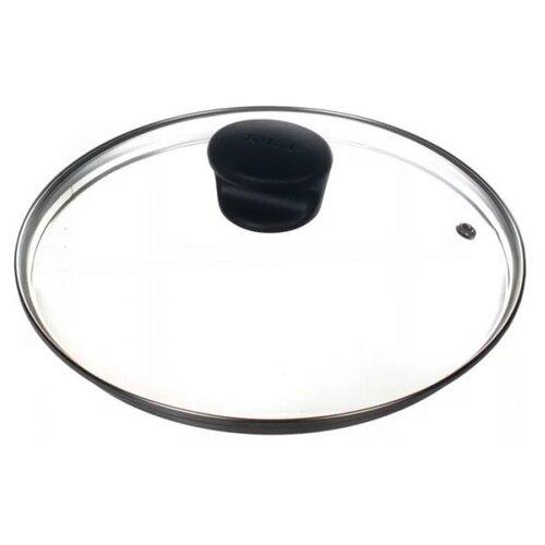 Крышка Tefal стеклянная 04090122 (22 см) прозрачный/черный