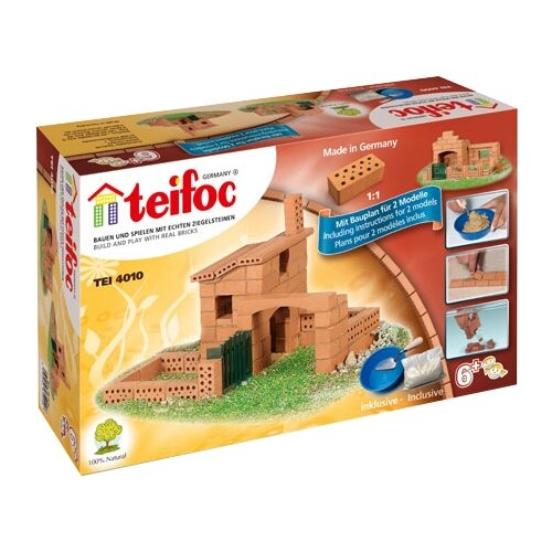 Конструктор TEIFOC Junior TEI4010 Коттедж