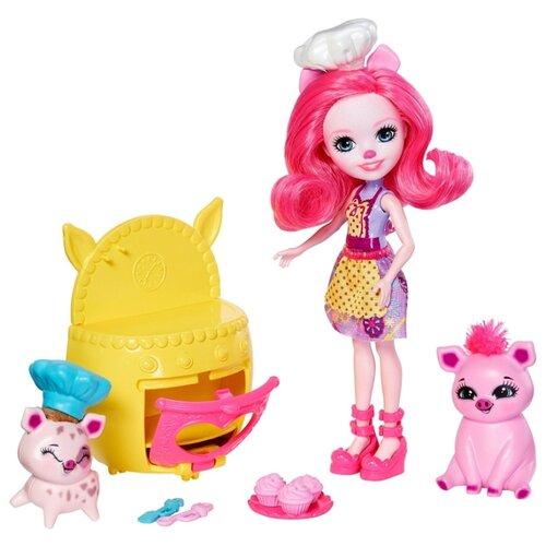 Купить Набор с куклой Enchantimals Друзья Пекари Пэтти Пиг, 15 см, FJJ28, Куклы и пупсы