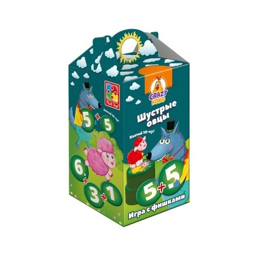 Настольная игра Vladi Toys Шустрые овцы VT8033-01 обучающая игра vladi toys шустрые овцы
