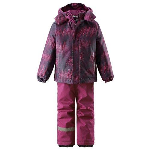 Комплект с брюками Lassie 723713-5993 размер 122, розовый штрих