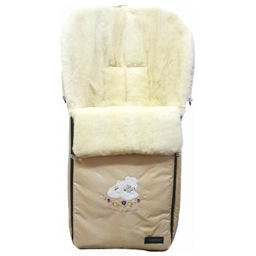 Купить Конверт-мешок Womar Aurora в коляску 95 см коричневый, Конверты и спальные мешки