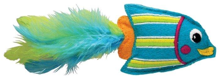 Игрушка для кошек KONG Тропическая рыбка с кошачьей мятой (CT413E)