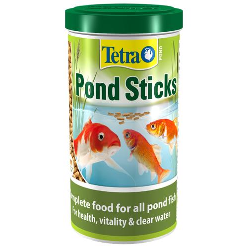 Сухой корм для рыб Tetra Pond Sticks 1000 мл сухой корм для рыб tetra pond koi sticks 15000 мл