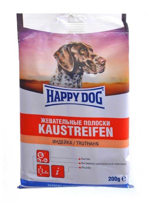 Лакомства для собак Happy Dog Kaustreifen